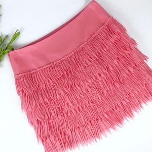 Ann Taylor Fringe Skirt